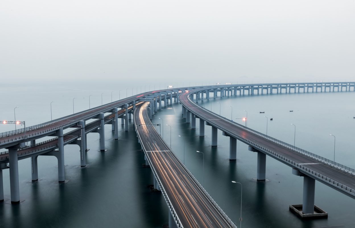 Dalian Xinghai Bay Bridge