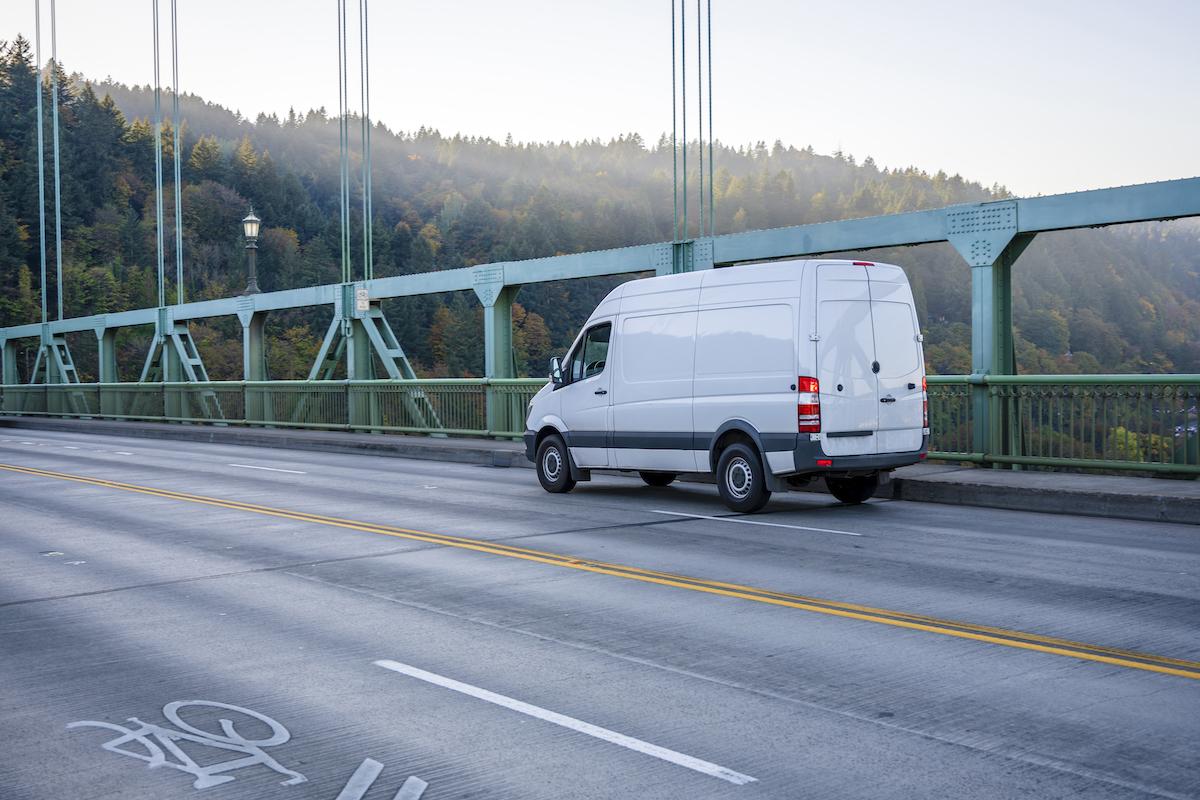 Compact business cargo mini van