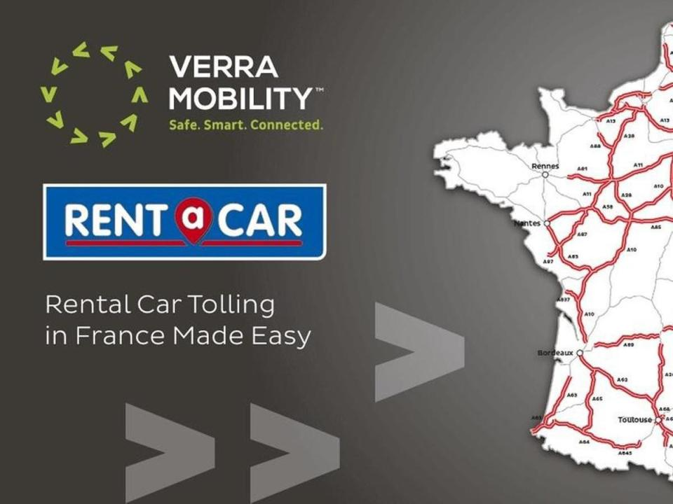 Verra Mobility expands it's European Footprint with Rent A Car partnership