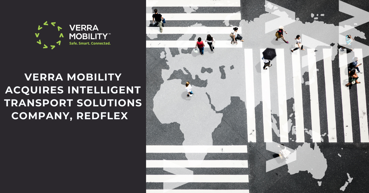 Verra Mobility acquires intelligent transport, solutions company, redflex with street view with people walking